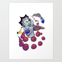 Radical Motion Art Print