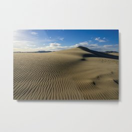 Killpecker_Sand_Dunes 4, Sweetwater_County, Wyoming Metal Print