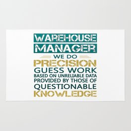 WAREHOUSE MANAGER Rug