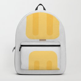 Icecream yellow grey Backpack