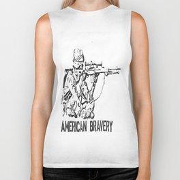 American Bravery Biker Tank