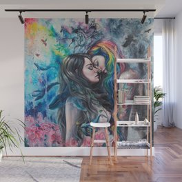 Colorful Me Wall Mural