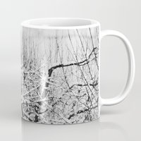 blankets Mugs featuring Blankets of Snow by Bella Blue Photography