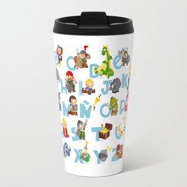 ABC  medieval (spanish) Travel Mug