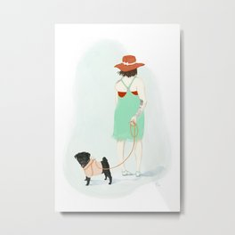 Connie Metal Print