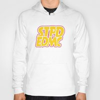 font Hoodies featuring Font Extra by STUPID ENDEMIC CLOTH