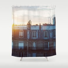 Bonjour Paris! Shower Curtain