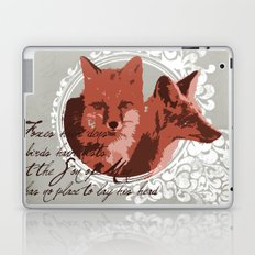 Foxes Have Dens Laptop & iPad Skin