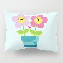 Kawaii Spring lovers Pillow Sham