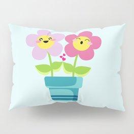 Kawaii Spring lovers Pillow Sham