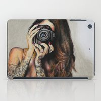 hello beautiful iPad Cases featuring Hello Beautiful by Kim Morrow