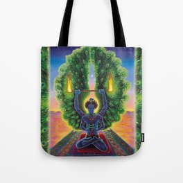 Melek Ta'us (The Peacock Angel) Tote Bag