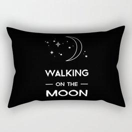Walking on the Moon Rectangular Pillow