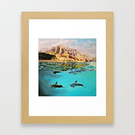 view of Kauai, HI Framed Art Print