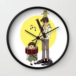 Thanks For Supporting my Bassooning Wall Clock