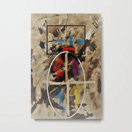 Surreal Abstrakt 1 Metal Print