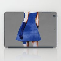 dress iPad Cases featuring Blue Dress by Ed Pires