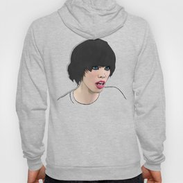 Alice Glass heads in motion WS Hoody
