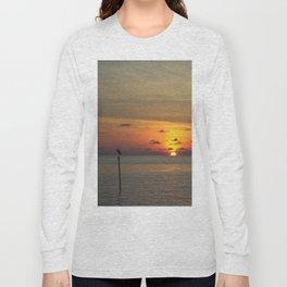 Maldivian Sunset Long Sleeve T-shirt