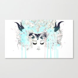 The Horned One Canvas Print