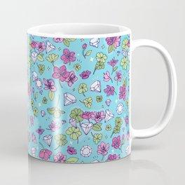 Flowers, Clovers & Diamonds Coffee Mug