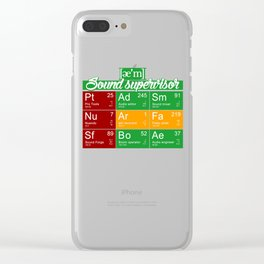 ae'm Sound supervisor Clear iPhone Case