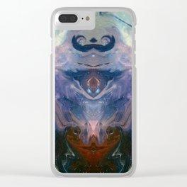Galactic High Priestess Clear iPhone Case