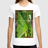 pool T-shirts featuring Pool by Robin Curtiss