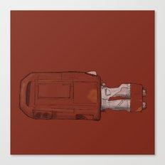 Rey's Speeder Canvas Print