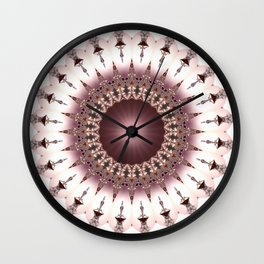 Luxury Mandala Wall Clock