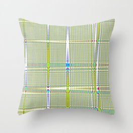 square countryside Throw Pillow