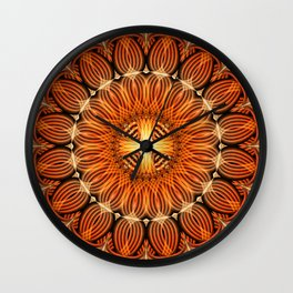 Guardian Mandala Wall Clock