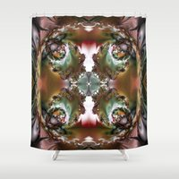 sublime Shower Curtains featuring Sublime Chaos by Robin Curtiss