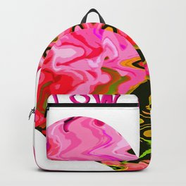 Follow your heart pink Backpack