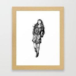 Fabulous Hair Framed Art Print