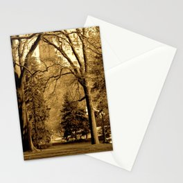 Cedar Hill in Central Park Stationery Cards