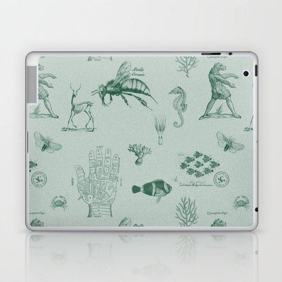 vintage ephemera mint Laptop & iPad Skin