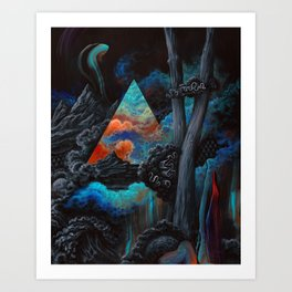 No one could have known the journey you would face Art Print