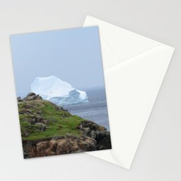 iceberg off the north coast of Newfoundland Stationery Cards