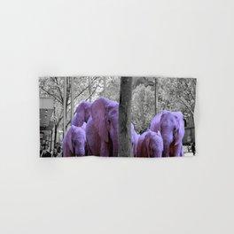 Purple guests Hand & Bath Towel