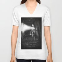 silent hill V-neck T-shirts featuring James Sunderland from Silent Hill 2 by Peerro