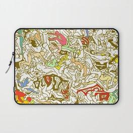 Kamasutra LOVE - Retro Yellow Laptop Sleeve