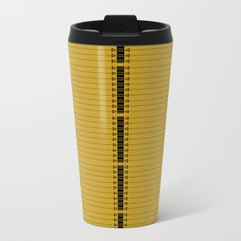The Lodge (Gold) Travel Mug