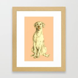 Labradorable Framed Art Print