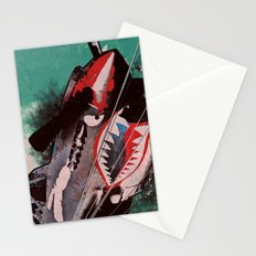 P40 Warhawk attack Stationery Cards