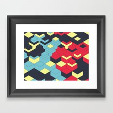 Two Sides A + B Framed Art Print