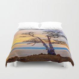 Baikal pine Duvet Cover
