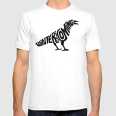 The three-eyed crow MEDIUM White Mens Fitted Tee