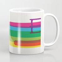 fargo Mugs featuring Shapes of Minneapolis by Glen Gould