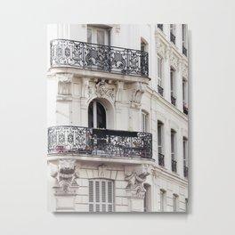 Montmartre Boho - Paris France Travel Photography Metal Print